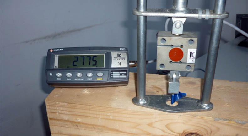 medidor de resistencia al arranque de tornillos