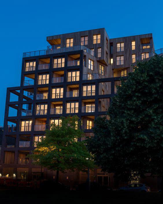 Banyan Wharf edificio madera 4