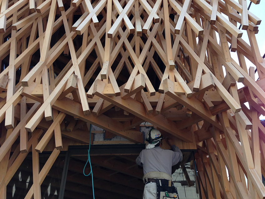 SunnyHills-estructura de madera